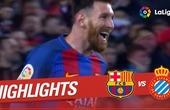 Barcelona 4 - Espanyol 1: Luis Suarez bags a brace (Official highlights)