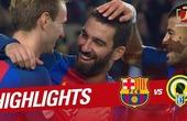 Arda Turan bags a hat-trick as Barcelona crush Hercules 7-0 (official video)