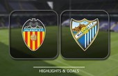 VIDEO Valencia 5 - 0 Malaga (Primera División) Highlights