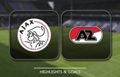 VIDEO Ajax vs AZ Alkmaar (Eredivisie) Highlights