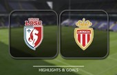 VIDEO Lille 0 - 4 Monaco (Ligue 1) Highlights