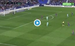 Video: Philippe Coutinho scores wonder-goal for Barcelona vs Levante but incredible record might be about to slip away