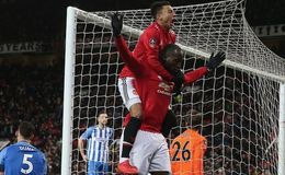 Romelu Lukaku stars as Manchester United ease to FA Cup semi-finals with Alexis Sanchez snubbed from line-up