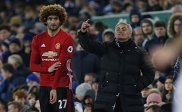 (Video) Everton 1-1 Manchester United: Furious fans slam Mourinho and Fellaini after dramatic late penalty