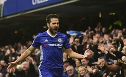 (Video) Conte team selection justified as Fabregas marks landmark appearance with 46th PL goal