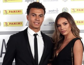 Dele Alli girlfriend Ruby Mae accompanies Spurs star at PFA awards bash despite sleazy Sun story