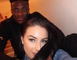 Tammy Abraham girlfriend photo suggests teenage Chelsea goal machine might be engaged to hot WAG